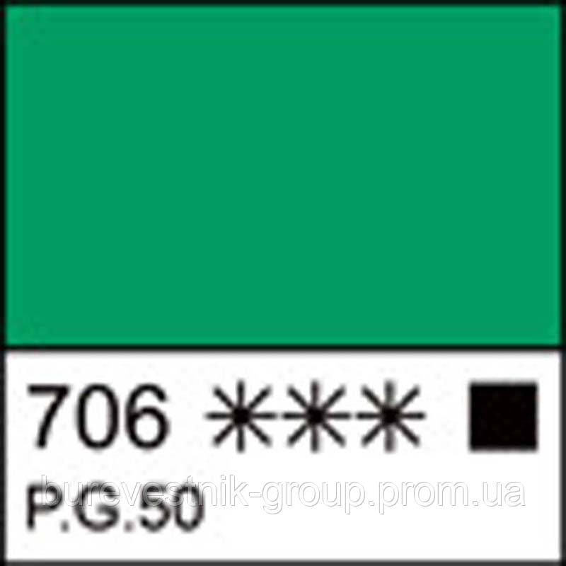 Краска гуашевая МАСТЕР-КЛАСС кобальт зеленый светлый, 40мл ЗХК