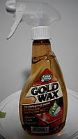 Полироль для мебели Gold drop Gold Wax с антистатиком