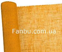 Сетка-мешковина натуральная флористическая ,желтого цвета (лист 0.5* 0.5м)