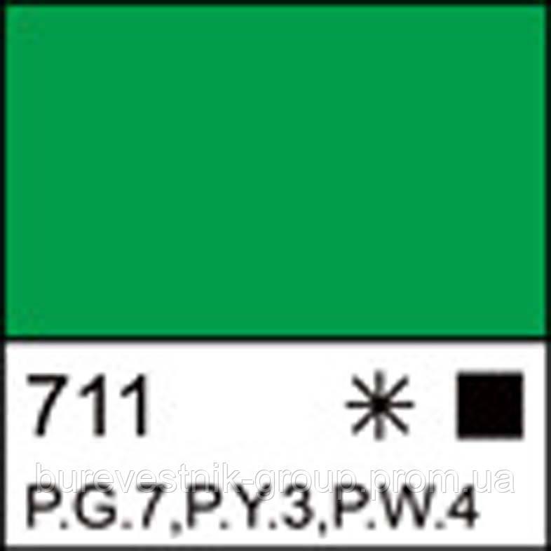 Фарба гуашева МАЙСТЕР-КЛАС яскраво-зелена, 40 мл ЗХК
