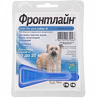 FrontLine Spot On  (Фронтлайн) капли для собак весом от 10 до 20 кг