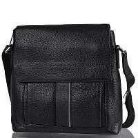 Мужская кожаная сумка через плечо TESORA (ТЕСОРА) W128-1-black