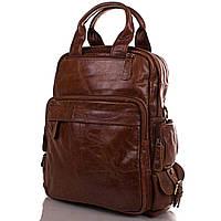 Мужская кожаная сумка-рюкзак ETERNO (ЭТЭРНО) ET2185-1
