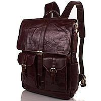 Мужская кожаная сумка-рюкзак ETERNO (ЭТЭРНО) ET1017