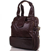 Мужская кожаная сумка-рюкзак ETERNO (ЭТЭРНО) ET1012