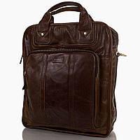 Сумка-рюкзак ETERNO Мужская кожаная сумка-рюкзак ETERNO (ЭТЭРНО) ET1013