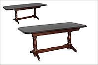 Стол обеденный Гранд орех 160(+40)х90 деревянный раскладной