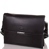 Сумка-почтальонка (мессенджер) Bonis Мужская сумка-почтальонка из качественного кожезаменителя BONIS (БОНИС), коллекция JIN DIAO SHI3373-3