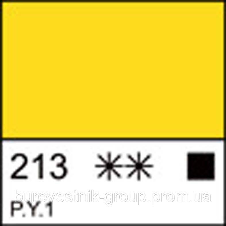 Краска гуашевая МАСТЕР-КЛАСС желтая светлая, 40мл ЗХК