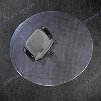 Ковер для защиты пола прозрачный круглый 200см. Толщина 2,0мм