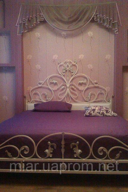 Кованая кровать ИК 071 2