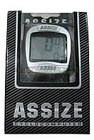 """Велокомпьютер ASSIZE AS-505  проводной (11 режимов)  """"Тайвань"""""""