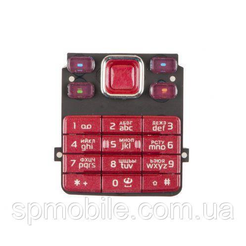 Клавиатура Nokia 6300 Red