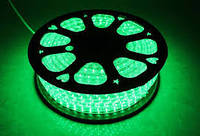 Светодиодная лента LED 5050 G 100m 220V Бухта зеленые диоды