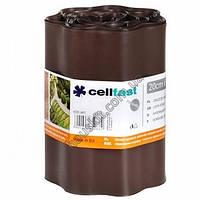 Газонный бордюр Cellfast 20 см 9 м коричневый