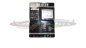 Велокомпьютер  ASSIZE AS-2000  беспроводной (11 режимов)