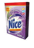 MultiChem. Пральний порошок Nice Lavendel, 0,6 кг. Стиральный порошок бесфосфатный, аромат лаванды.