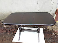 Стол обеденный Аврора венге 102(+32)х70х74