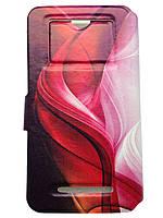 Чехол откидной вбок Samsung N9009 Galaxy Note 3 книжка обложка разный принт
