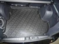 Резиновый коврик в багажник Mitsubishi Outlander XL 07-12 с сабвуфером Lada Locer (Локер)