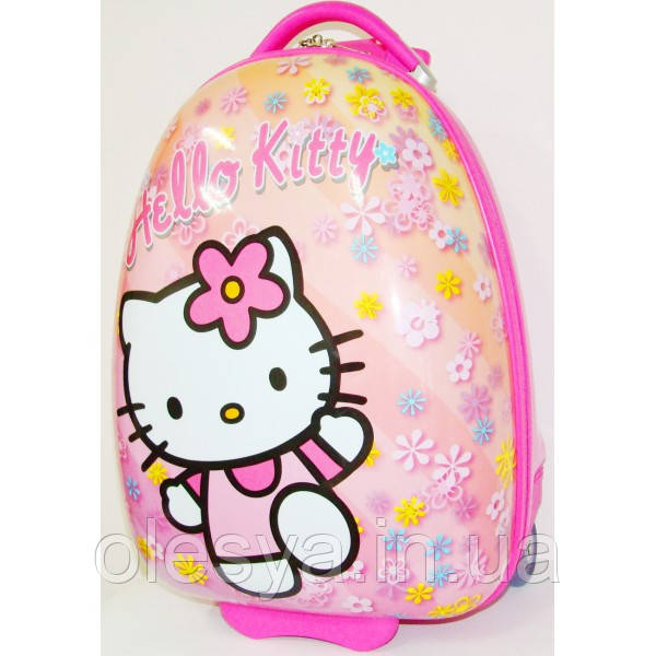 """Детский чемодан на колесах """"Китти"""" для детей 3- 8 лет"""