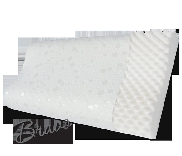 Ортопедическая подушка повышенного комфорта с охлаждающим эффектом (форма волны) Bravo