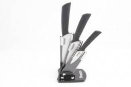 Набор ножей с керамическими лезвиями 4 пр./наб. на акриловой подставке Fissman Rits premium (KN-2653.4)