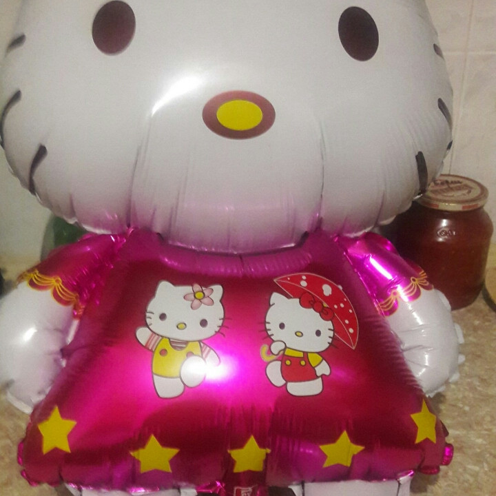 """Фольгований куля """"Hello Kitty"""" 82 див."""