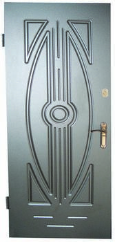 Металлические двери одностворчатые, фото 2