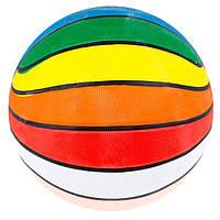 Мяч баскетбол №7 резина,разноцветный R7-MC. Распродажа!