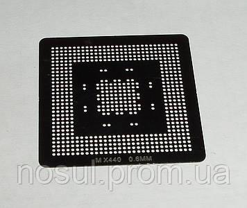 BGA шаблоны Nvidia 0.6 mm MX440 трафареты для реболла реболинг набор восстановление пайка ремонт прямого нагре