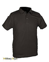 Тактическая футболка-поло (Black)