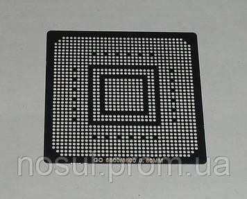 BGA шаблоны Nvidia 0.6 mm GO 6800  6600 трафареты для реболла реболинг набор восстановление пайка ремонт прямо