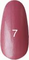 Гель-лак Kodi Professional № 7, Чайная роза с перламутром, 8 мл