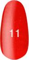 Гель-лак Kodi Professional № 11, Красный с микроблеском, 8 мл
