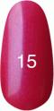 Гель-лак Kodi Professional № 15, Классическое бордо с перламутром, 8 мл