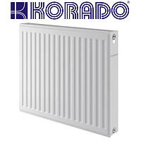 Стальные радиаторы KORADO 11 VK 600*2300 Чехия (нижнее подключение)