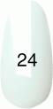 Гель-лак Kodi Professional № 24(10BW), Белая эмаль, 8 мл