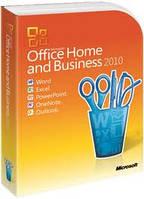 Microsoft Office Home and Business 2010 32/64Bit Russian DVD BOX (T5D-00412) вскрытый