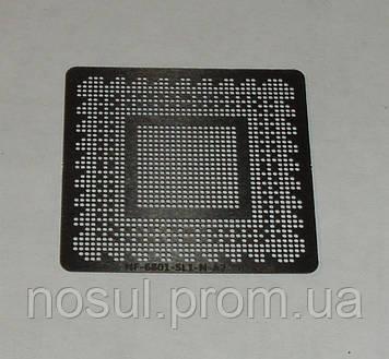 BGA шаблоны Nvidia 0.5 mm NF-6801-SLI-N-A2 трафареты для реболла реболинг набор восстановление пайка ремонт пр