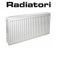 Стальной радиатор Radiatori 22 500*1600 Турция (боковое подключение)