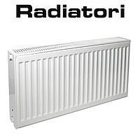 Стальной радиатор Radiatori 22 300*500 Турция (боковое подключение)