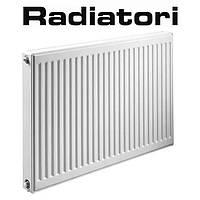 Стальной радиатор Radiatori 11 500*1200 Турция (боковое подключение)