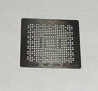BGA шаблоны Nvidia 0.5 mm NF-200-SLI-A2 трафареты для реболла реболинг набор восстановление пайка ремонт прямо