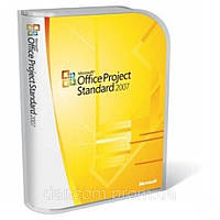 Microsoft Office Project Standard 2007, BOX (076-03763) вскрытая упаковка