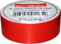 Изолента самозатухающая ПВХ красная 10м, фото 1