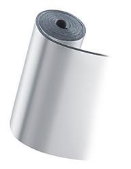 Термоизолятор листовой каучук 10 мм ALU АD (черный с алюминиевой фольгой)