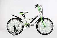 Велосипед детский ARDIS SUMMER BMX 20 бело зеленый, фото 1
