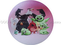 Вафельная картинка - Злые птички №2 - Ø21