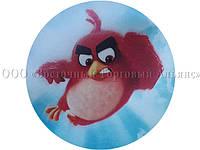 Вафельная картинка - Злые птички №3 - Ø21
